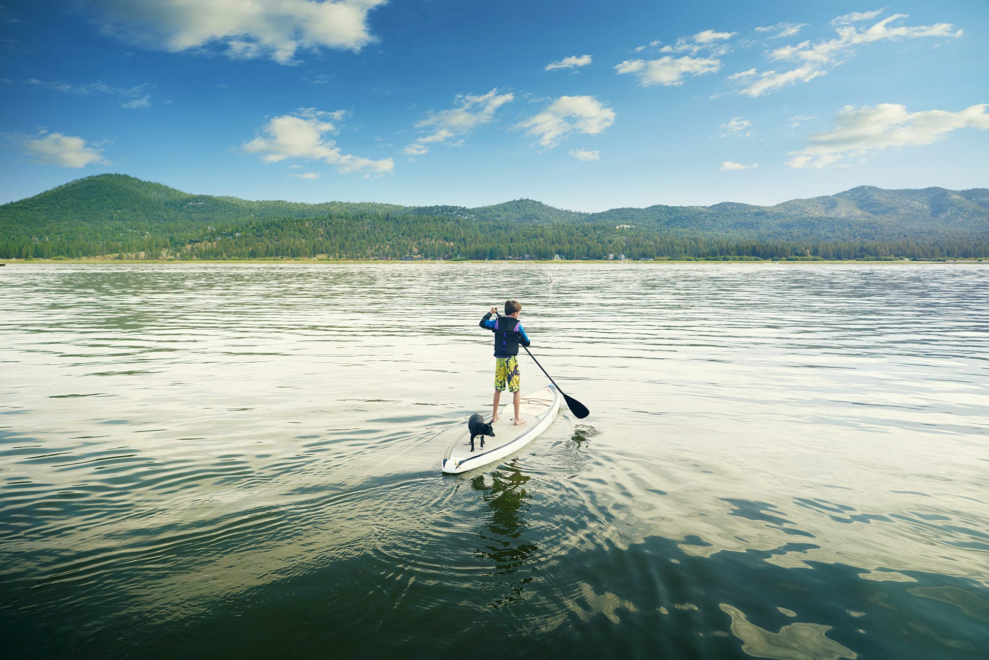 Big Bear Lake in California was the top trending destination © The Image Bank / Getty Images
