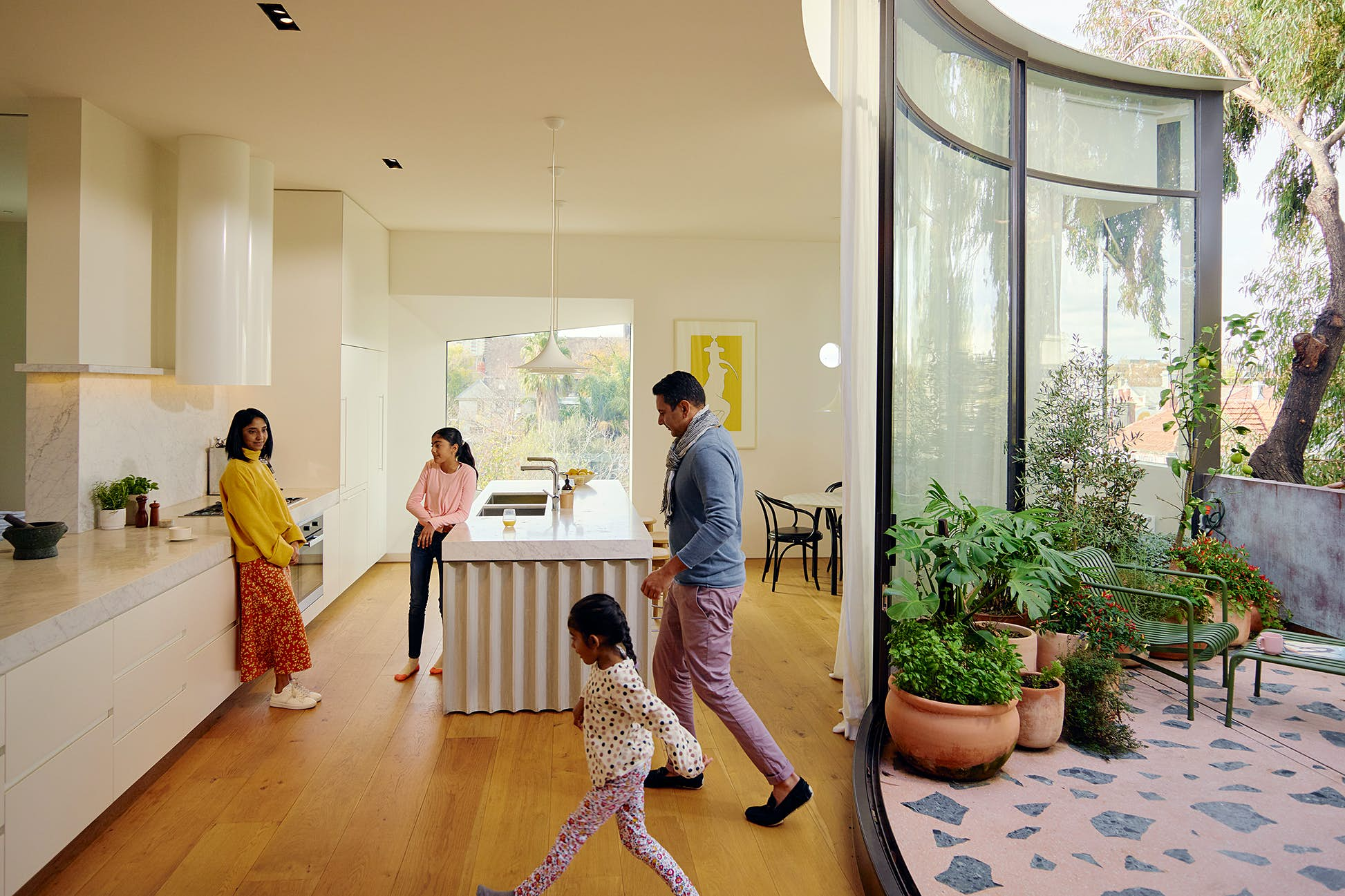 The study revealed that family bookings have gone up 55% over last year © Airbnb