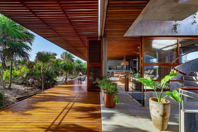 A new hideaway villa has opened in Tulum in Mexico © Productora