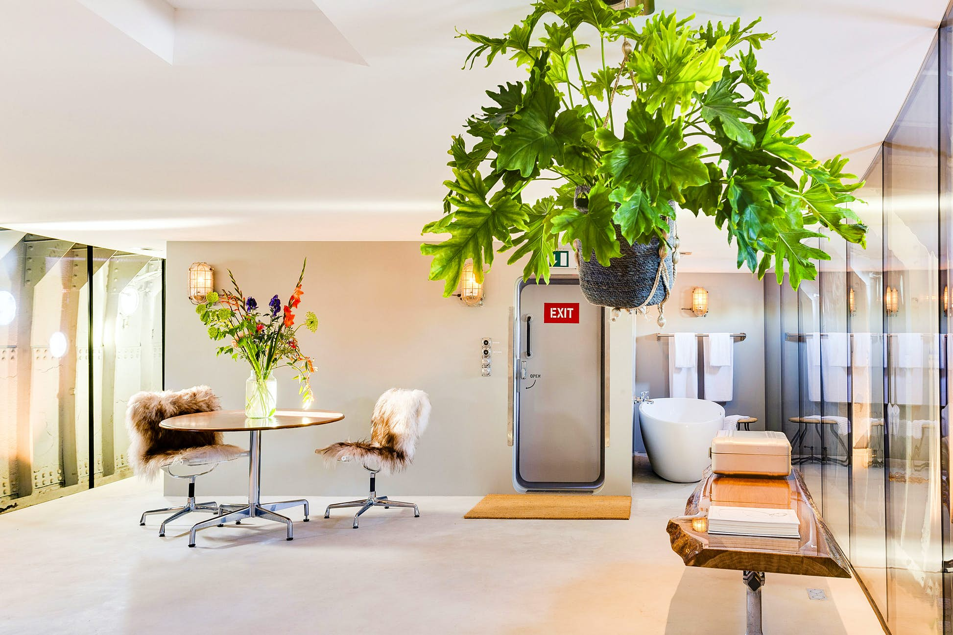 The B&B has home comforts and is not far from the city center © Lightship Amsterdam