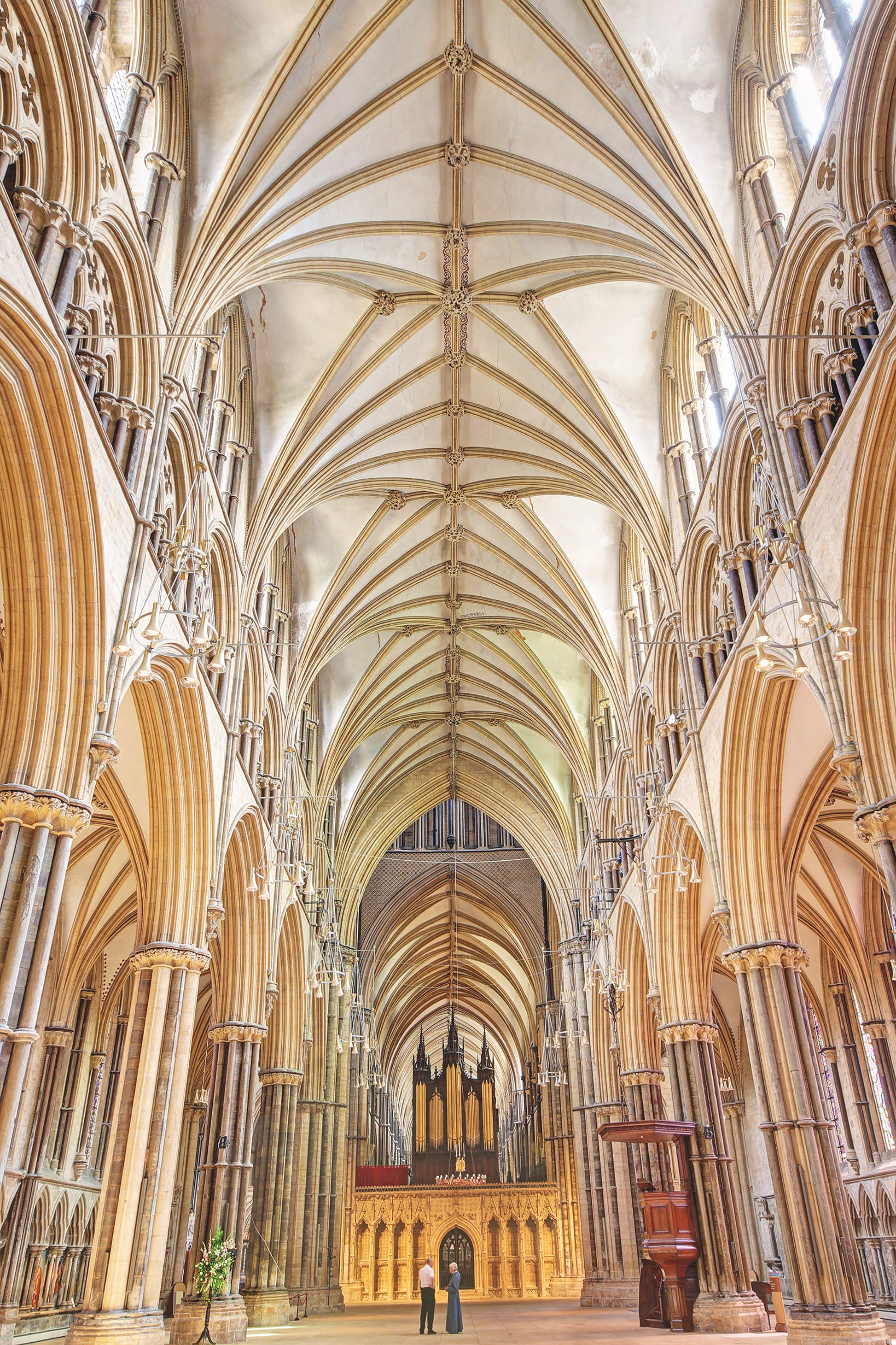Lincoln: not the biggest, but perhaps the greatest of English cathedrals © Alastair Wallace / Shutterstock