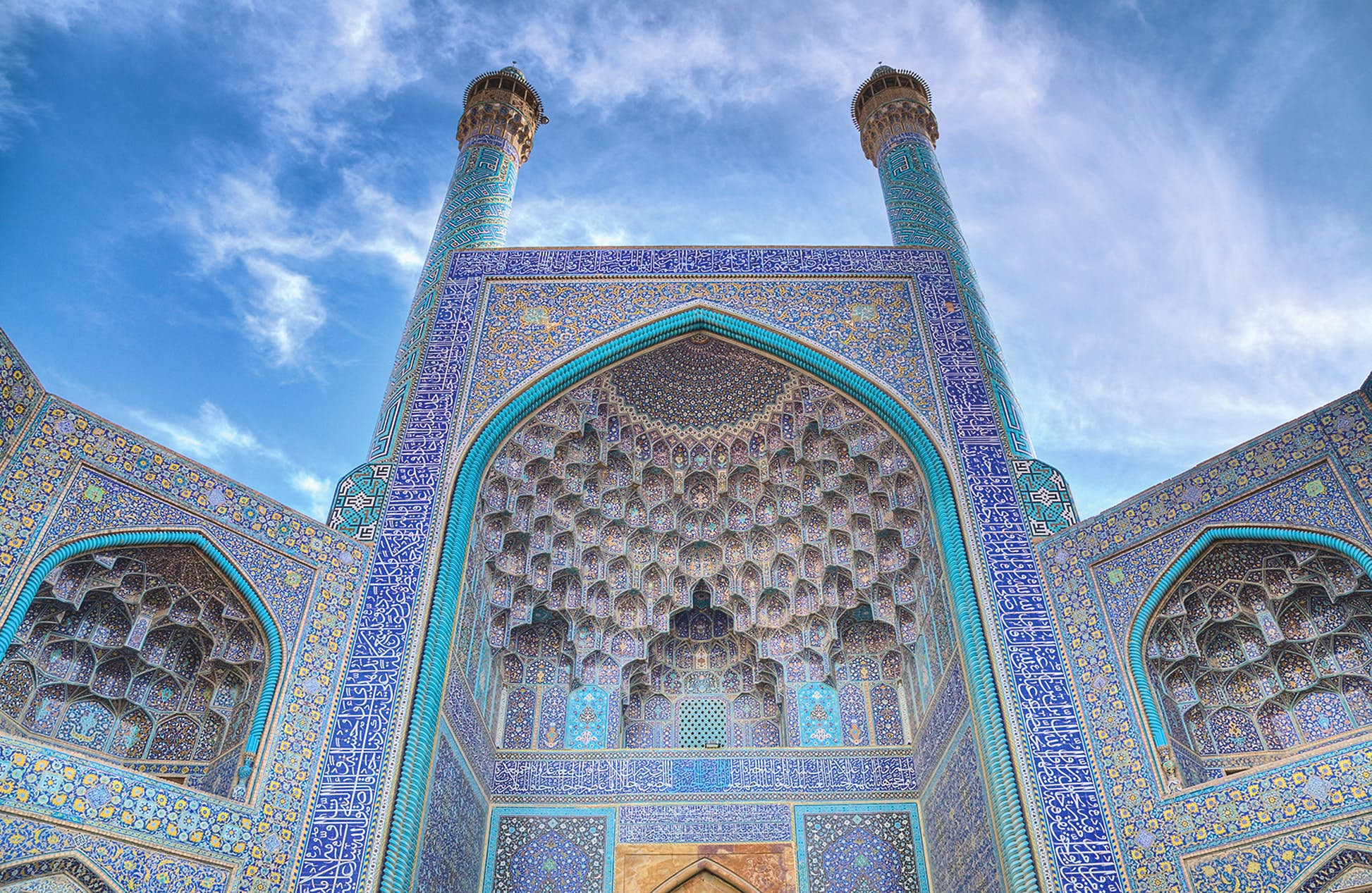 Iran has many fine examples of Islamic architecture, but the Shah Mosque, or Masjed-e-Shah, might just top them all © Ravi Tahilramani / Getty Images