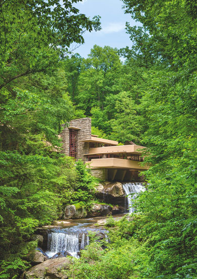 Frank Lloyd Wright's masterpiece strives to achieve harmony between the outside and inside © Ian Dagnall / Alamy Stock