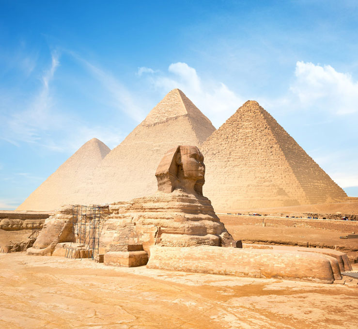 The Sphinx may be modeled after Khufu's son ©givaga/Shutterstock