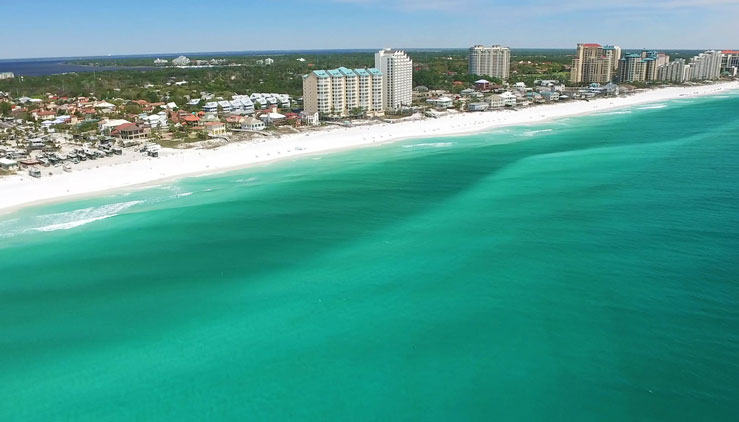 Miramar and Rosemary are two of the 16 beaches comprising South Walton © Visit Florida