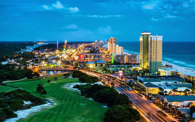 Panama City Beach is not the place for a chill getaway © RobHainer/Getty Images