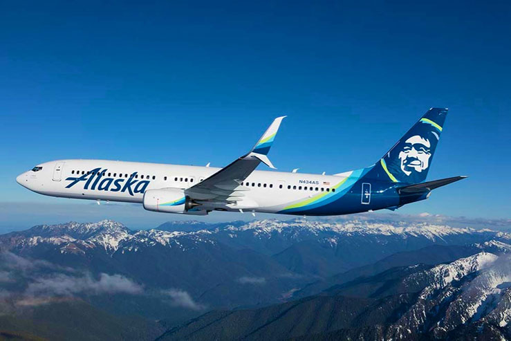 Alaska Airlines is using the soccer-related warning system © Alaska