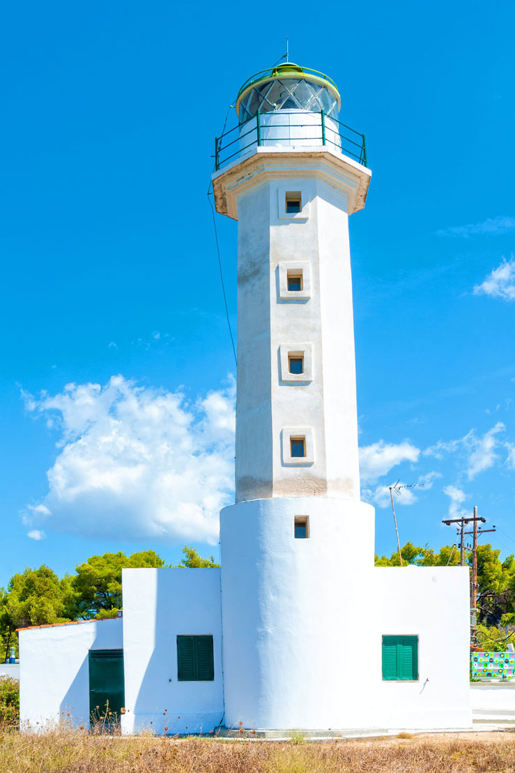 The lighthouse in Possidi Cape was built in 1864 © Nedomacki Getty Images / iStockphoto