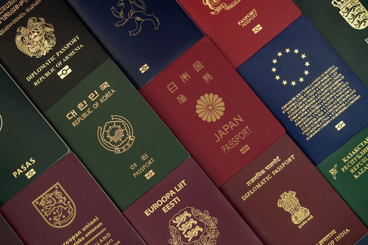 The strength of some of the world's most powerful passports has been affected by the COVID-19 pandemic © Sergey Shik/Shutterstock