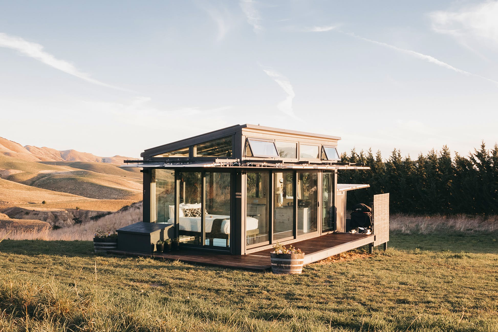 You won't have to take your eyes off the wilds of New Zealand @ Courtesy of PurePods