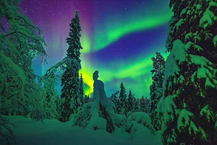 Norway is popular with those wanting to see the Northern Lights in winter © Wide Wings/500px