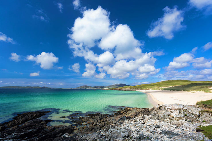Luskentyre Beach on the Isle of Harris © Anyka / Alamy Stock Photo