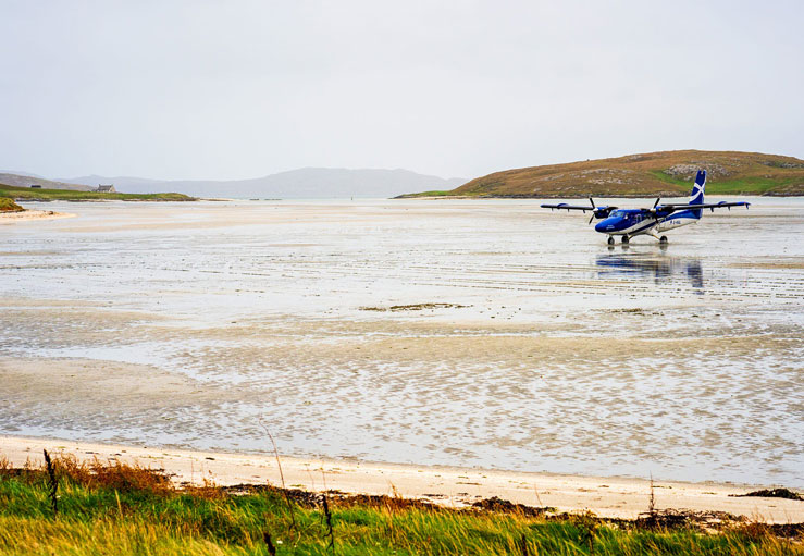 Traigh Mor beach doubles as a runway © georgeclerk / Getty Images