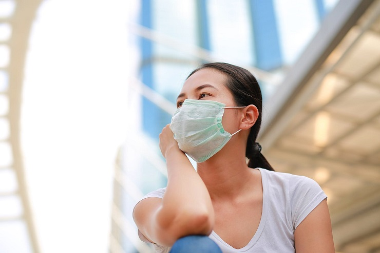 Passengers are required to wear face masks on board aircraft © Golfx via Getty Images