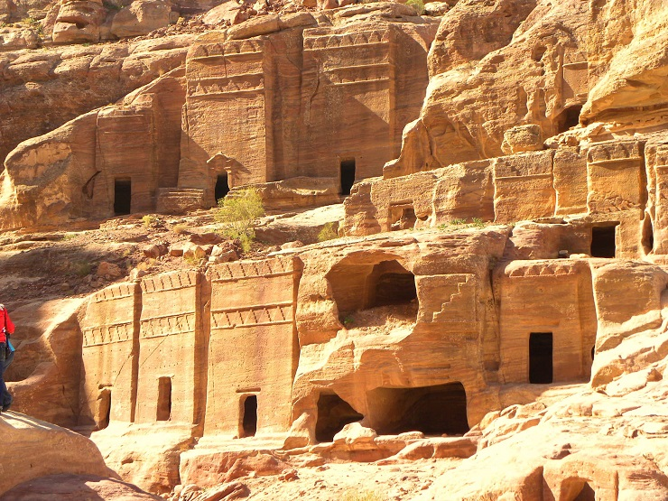 Commoners tombs, Petra: visitor restrictions on domestic tourism sites were lifted in June © marmat1711/Budget Travel