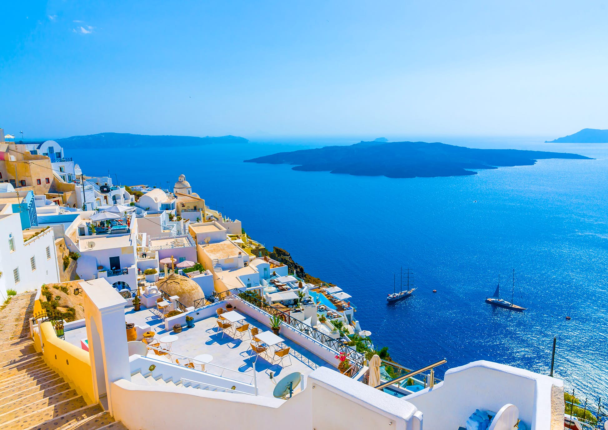 Greece has begun to reopen its hospitality and tourism sectors ©imagIN.gr photography/Shutterstock
