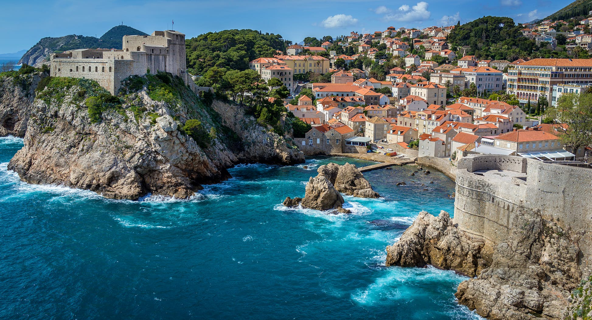 The cruise will stop along the beautiful coasts of Croatia, including Dubrovnik ©Cory Schadt/500px