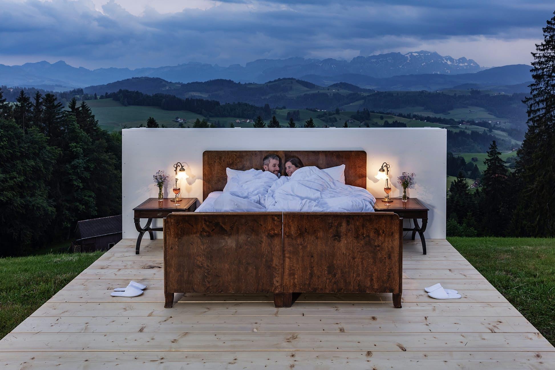 Cosy up in the Säntis Suite ©Appenzellerland Tourism Switzerland