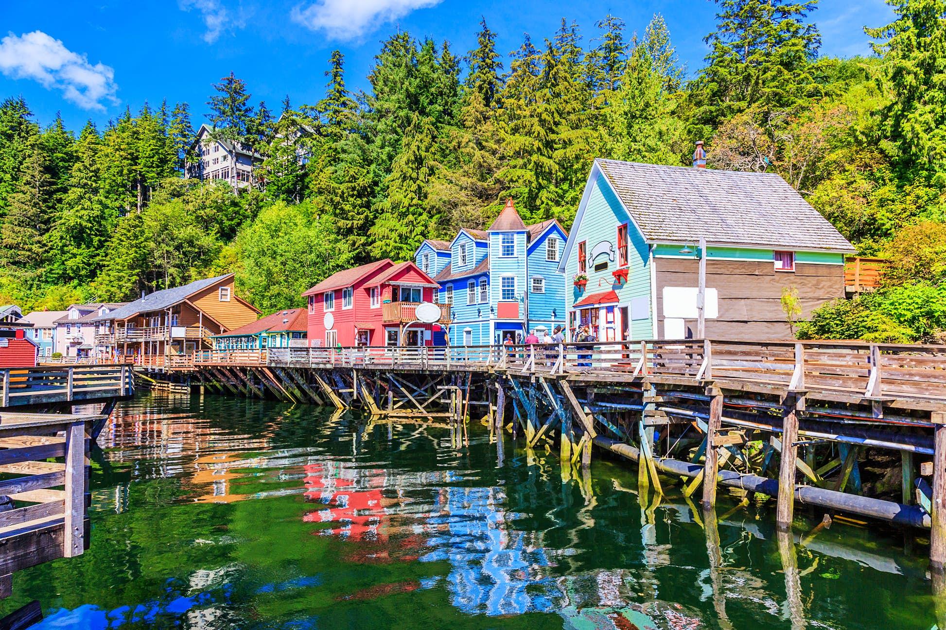 Ketchikan, Alaska © sorincolac / Getty Images