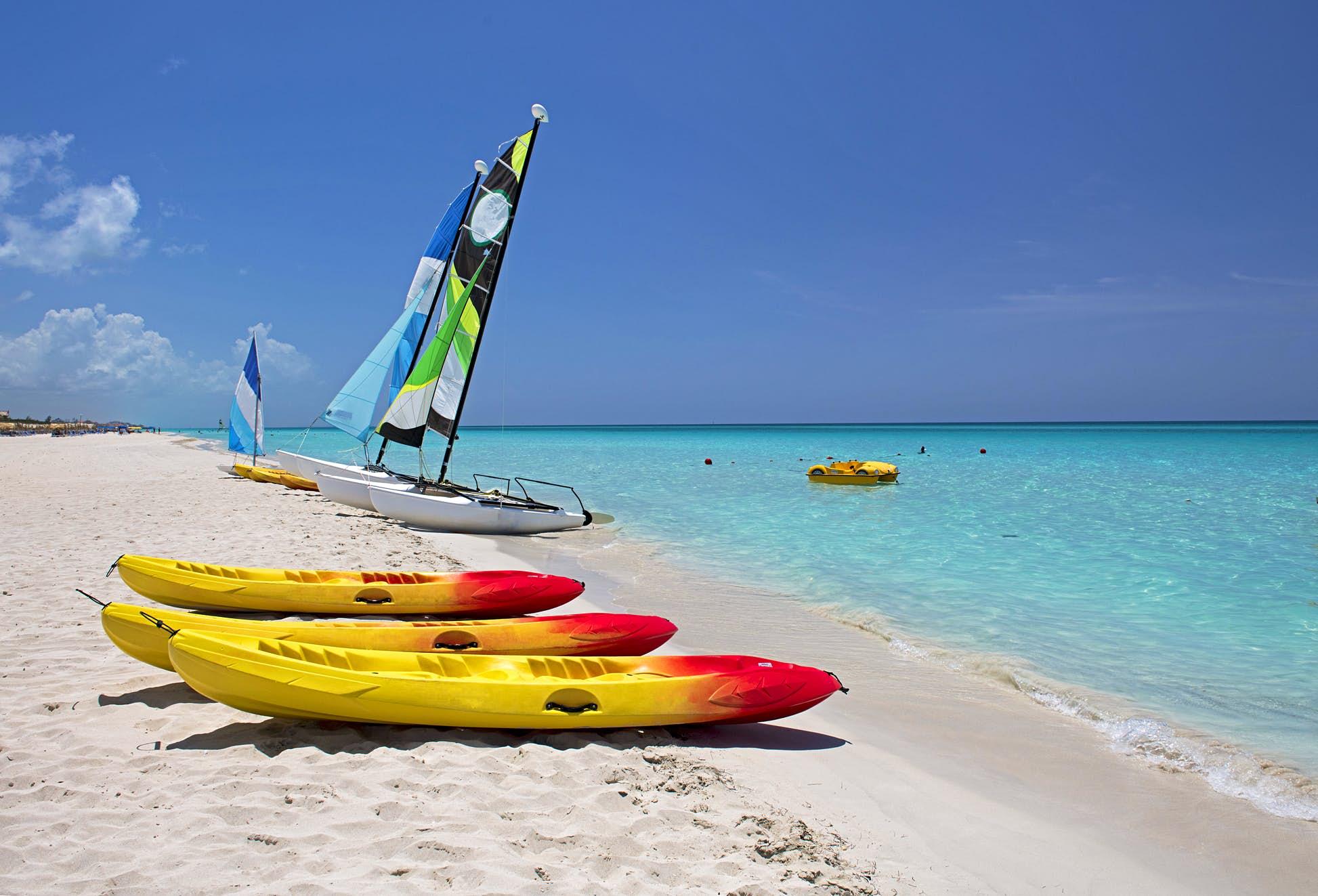 Beautiful Varadero beach, Cuba © majaiva/Getty Images